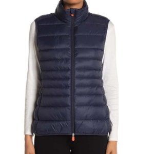 Save The Duck Giga Quilted Puffer Vest NEW